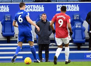 Brendan Rodgers was impressed with Leicester (Michael Regan/PA)