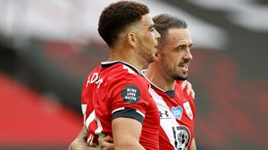 Che Adams, left, and Danny Ings were on the scoresheet for Southampton (Andrew Boyers/PA)