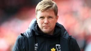 Eddie Howe has hinted he will stay on at Bournemouth even if the Cherries are relegated from the Premier League (Mike Egerton/PA)