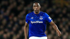 Yerry Mina is facing several weeks on the sidelines (Simon Cooper/PA)