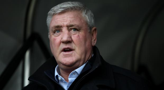 Steve Bruce says he has never known anything like their current injury crisis (Nick Potts/PA)