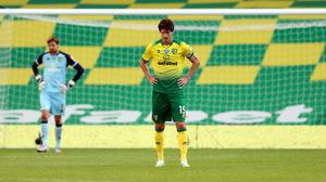 Timm Klose endured a tough return with Norwich (Mike Egerton/PA)