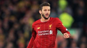 Adam Lallana has agreed a short-term deal with Liverpool to end the season (Mike Egerton/PA)