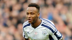 West Brom's Saido Berahino could miss the visit of Stoke