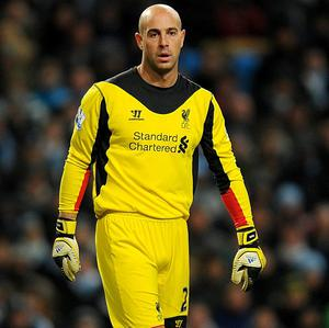Jose Reina, pictured, was taken aback by Victor Valdes' decision to leave Barcelona