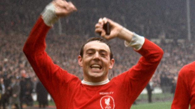 Ian St John was one of Liverpool's all-time greats (PA)