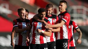 Che Adams scored his side's only goal (Frank Augstein/NMC Pool/PA)
