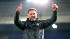 Ralph Hasenhuttl has signed a new deal at Southampton (Nigel French/PA)