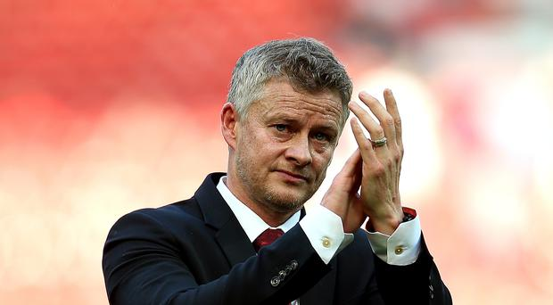 Ole Gunnar Solskjaer was left frustrated as Manchester United suffered a late defeat at Old Trafford (Martin Rickett/PA)
