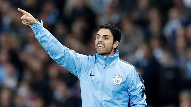Mikel Arteta has been linked with the Arsenal job (Martin Rickett/PA)