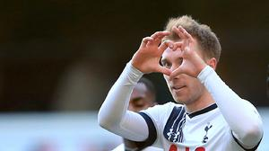 Christian Eriksen struck twice as Spurs thrashed Sunderland