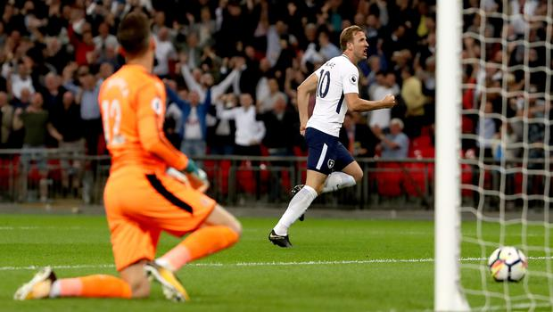 Harry Kane's goal booked a Champions League place for Tottenham