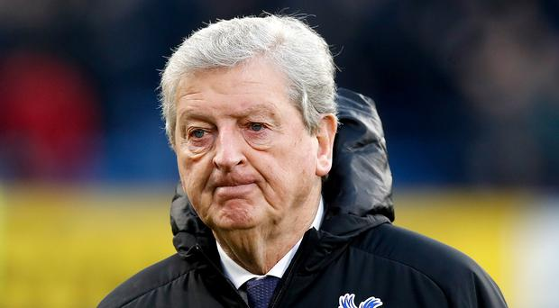 Crystal Palace manager Roy Hodgson has some men out (Martin RickettPA)