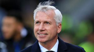 Alan Pardew has enjoyed his first year in charge at Crystal Palace