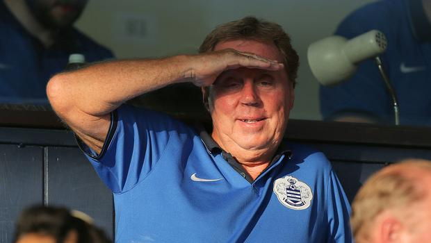 Harry Redknapp saw his QPR side move off the foot of the table with a win over Leicester