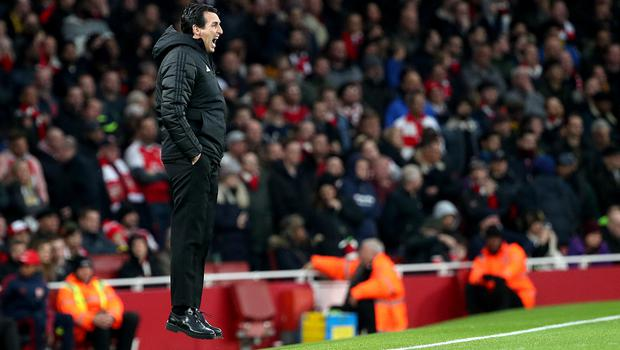 Emery's last Premier League game in charge of Arsenal was the 2-2 draw against Southampton on November 23 (Yui Mok/PA)