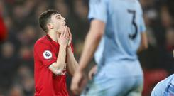 Daniel James knows Manchester United produced an unacceptable display against Burnley (Martin Rickett/PA)
