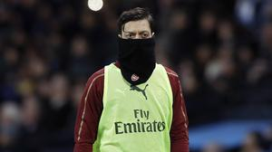 Mesut Ozil has been out of favour at Arsenal (Martin Rickett/PA)