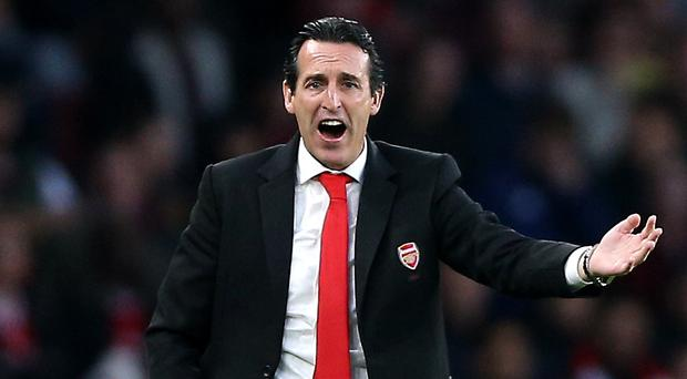 Unai Emery's Arsenal have recorded just one win from seven in all competitions (Nigel French/PA)