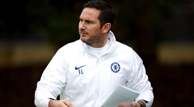 Frank Lampard is not focusing on his January plans just yet (John Walton/PA)