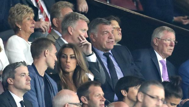 David Moyes (left) retained a close relationship with Sir Alex Ferguson (right) despite his early departure from the United job (Peter Byrne/PA Images)
