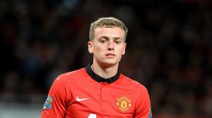 James Wilson joined Derby on loan after finding opportunities at Manchester United hard to come by