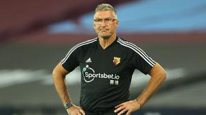 Nigel Pearson will not oversee Watford's final two games of the season (Richard Heathcote/NMC Pool/PA)