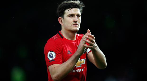 Harry Maguire is in contention to face Norwich (Martin Rickett/PA)