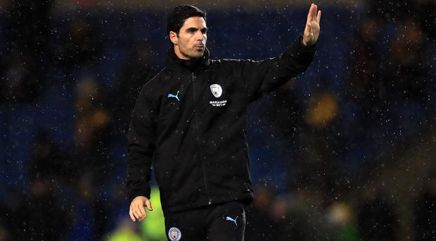 Mikel Arteta has been Manchester City assistant coach since the summer of 2016 (Mike Egerton/PA)