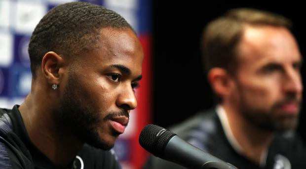 Raheem Sterling is at the centre of English football's latest anti-racism campaign (Nick Potts/PA_