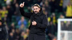 Norwich head coach Daniel Farke has begun planning for relegation to the Championship with the signing of Danish midfielder Jacob Sorensen (Joe Giddens/PA)