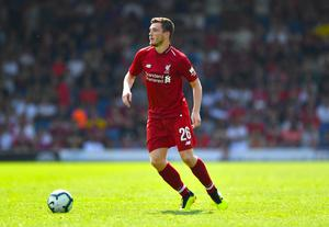 After a slow start, Andy Robertson is now a key player for Jurgen Klopp (Anthony Devlin/PA).