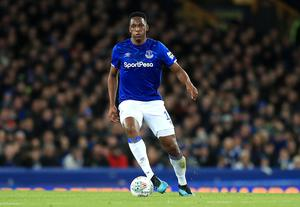 Yerry Mina will miss Sunday's game through injury (Simon Cooper/PA)