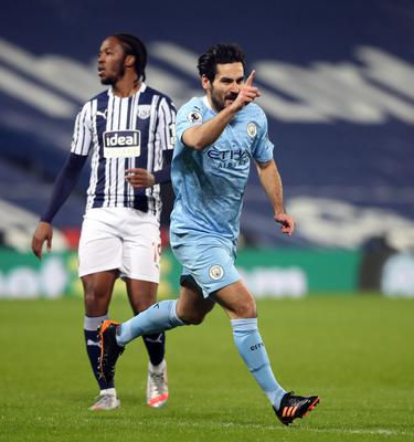 Ilkay Gundogan has been in fine form in the absence of star colleagues (Nick Potts/PA)