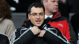 Damien Comolli believes insurance will be a problem with players.(Martin Rickett/PA)