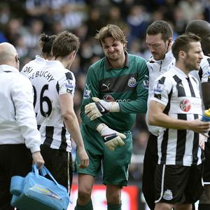 Tim Krul missed the final five games of the last campaign after dislocating his shoulder