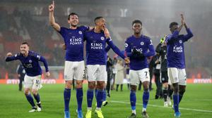 Leicester recorded a record 9-0 away win at Southampton (Andrew Matthews/PA)