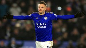 Jamie Vardy has not found the net in Leicester's recent games (Mike Egerton/PA)