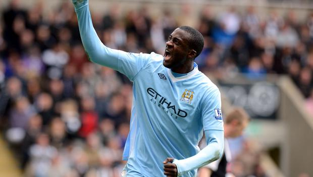 Toure fired City to a key win at Newcastle