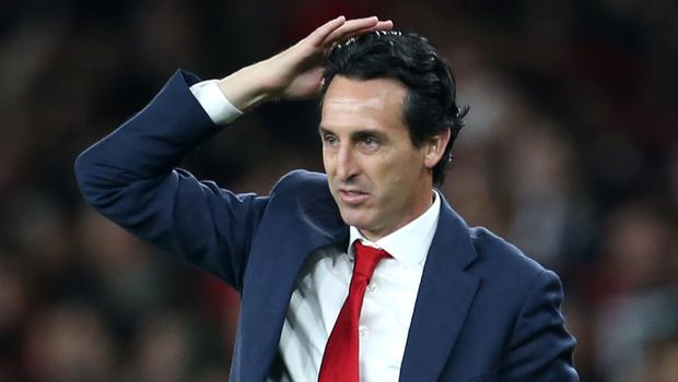 Unai Emery has come under pressure in recent weeks. (Steven Paston/PA)