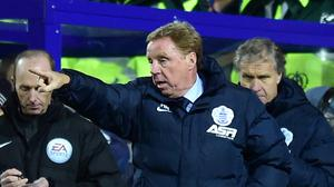 QPR boss Harry Redknapp , pictured, does not intend on accepting any bids for striker Charlie Austin in January