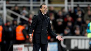 Roberto Martinez's Everton have only won one of their last eight matches in all competitions