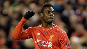 Mario Balotelli is staying at Liverpool, according to his agent
