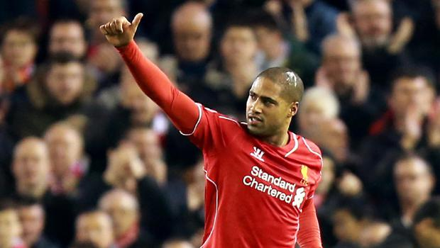 Liverpool defender Glen Johnson appears resigned to leaving the club at the end of the season