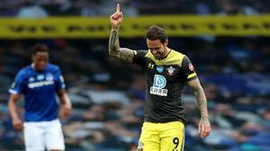 Danny Ings was on target as Southampton drew with Everton (Peter Byrne/NMC Pool/PA)