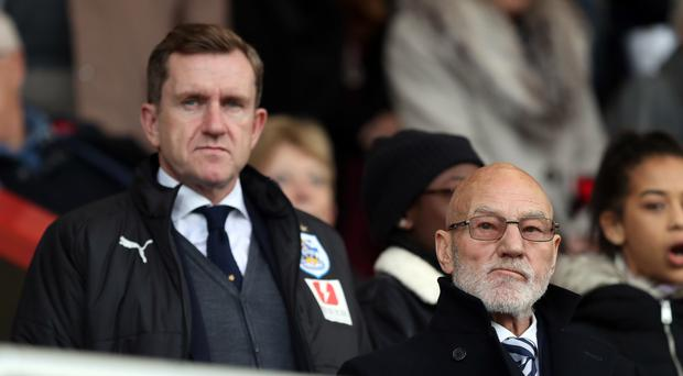 Huddersfield chairman Dean Hoyle has vowed to learn from the club's mistakes (Andrew Matthews/PA)