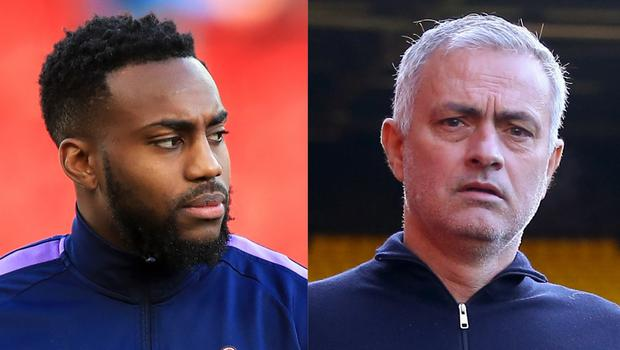 Jose Mourinho, right, says there is no problem between himself and Danny Rose (Peter Byrne/Nigel French/PA)