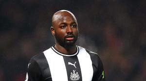 Newcastle wing-back Jetro Willems will miss the rest of the season with a cruciate ligament injury (Martin Rickett/PA)