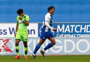 Reece James has impressed during his time at Wigan (Martin Rickett/PA)