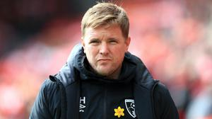 Bournemouth, managed by Eddie Howe, have picked up just one point from their last six games (Mike Egerton/PA)